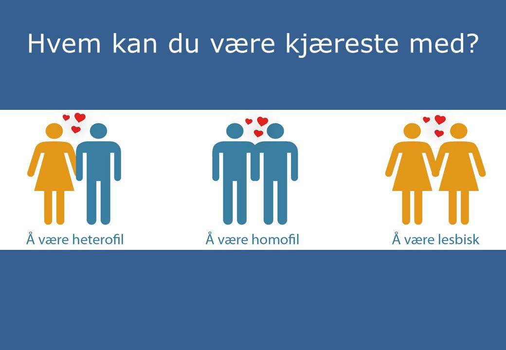 Hvem kan du være kjæreste med?