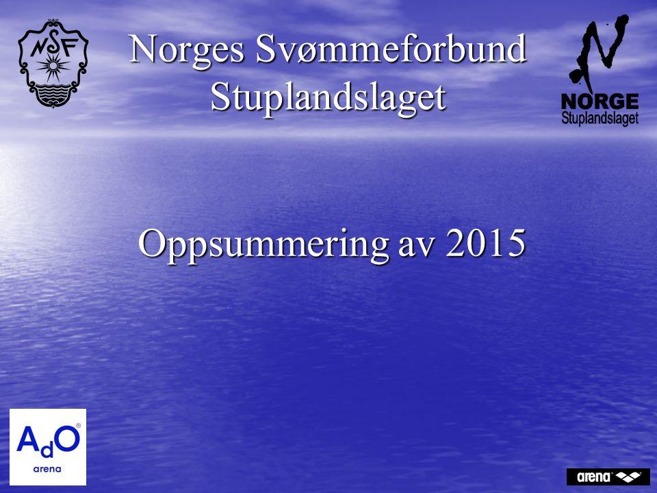 Oppsummering av 2015 Norges Svømmeforbund Stuplandslaget