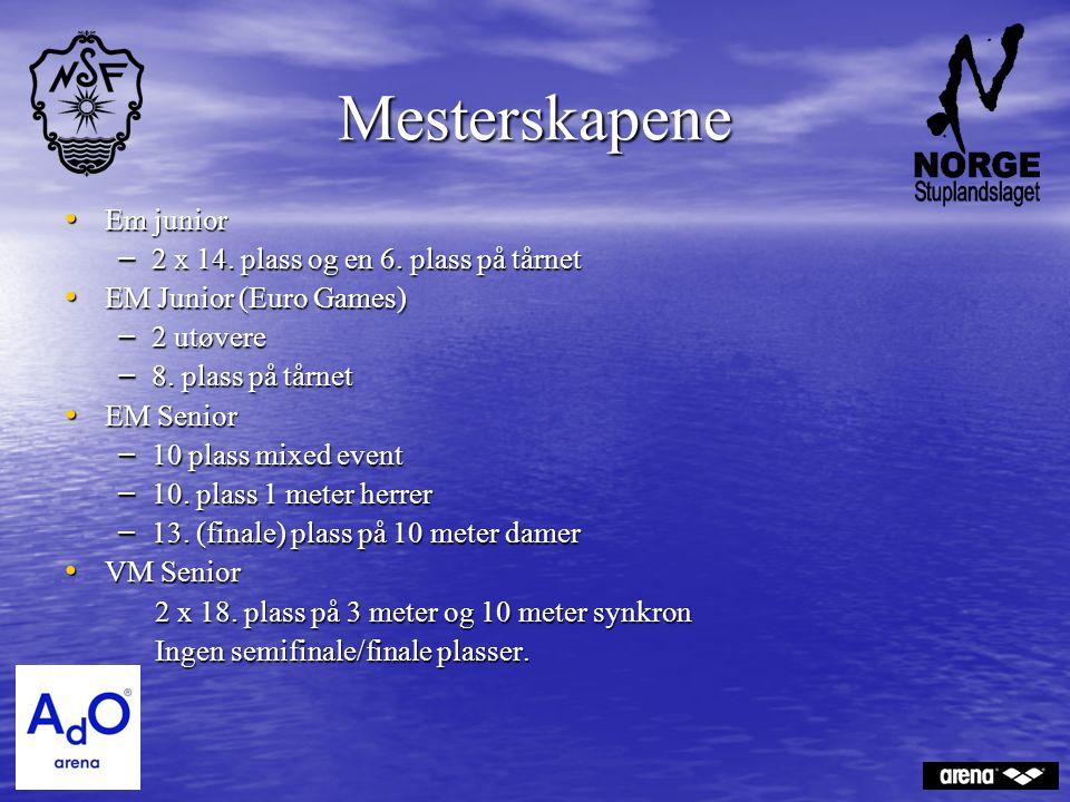 Mesterskapene Em junior Em junior – 2 x 14. plass og en 6.