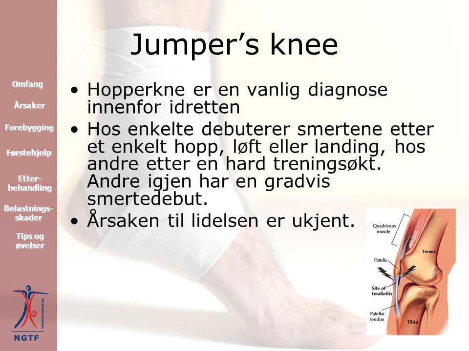 De vanligste akutte skadene Dere vil nå få en beskrivelse av de vanligste akutte skadene som forekommer i idrett.