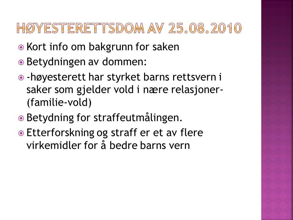  Praksis v/ norske sykehus om ikke å anmelde vold mot barn, er ulovlig.
