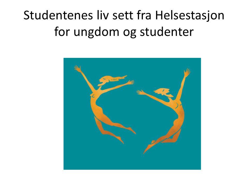 Studentenes liv sett fra Helsestasjon for ungdom og studenter