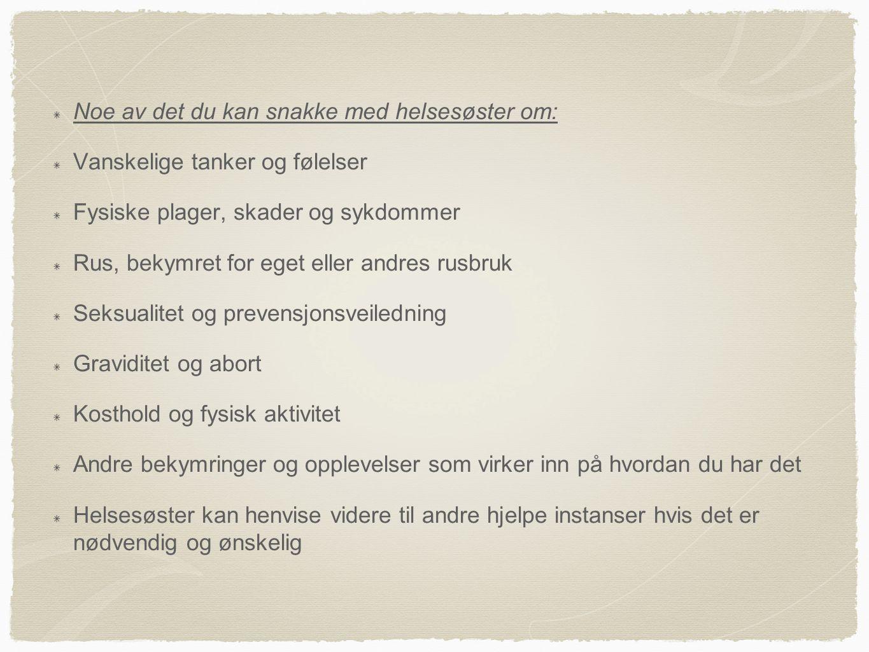 Fastlege -Norske statsborgere har krav på en fast allmennlege å forholde seg til.