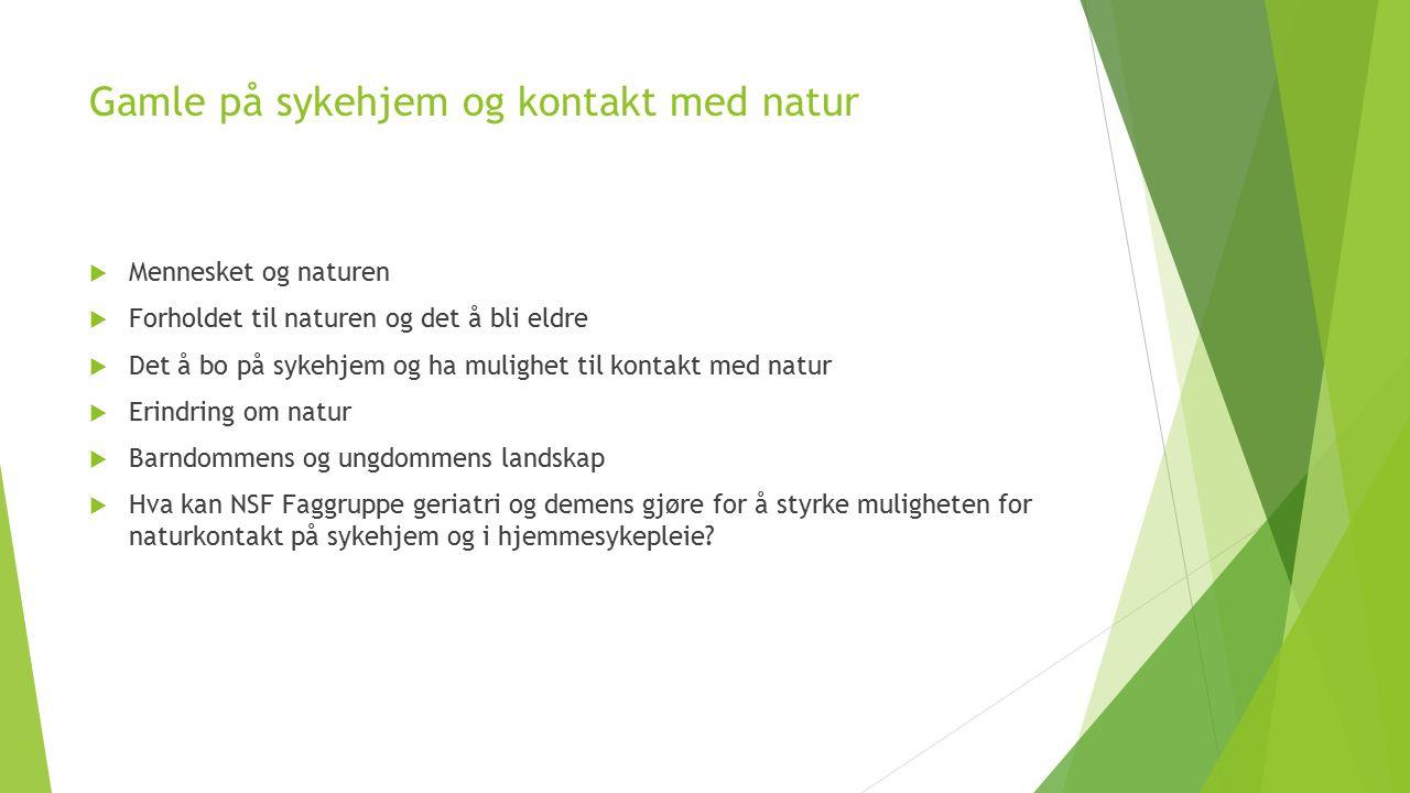 Referanser  Daatland, S.O.og Solem, P.E. (2011).