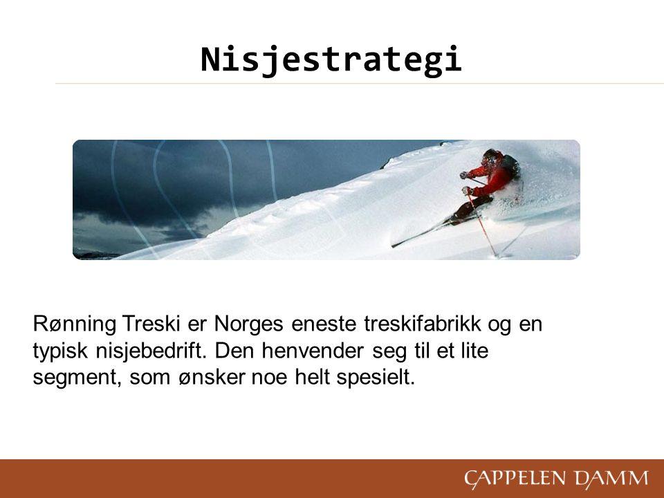 Rønning Treski er Norges eneste treskifabrikk og en typisk nisjebedrift.