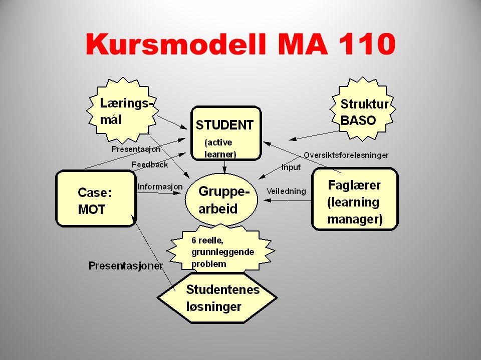 Kursmodell MA 110