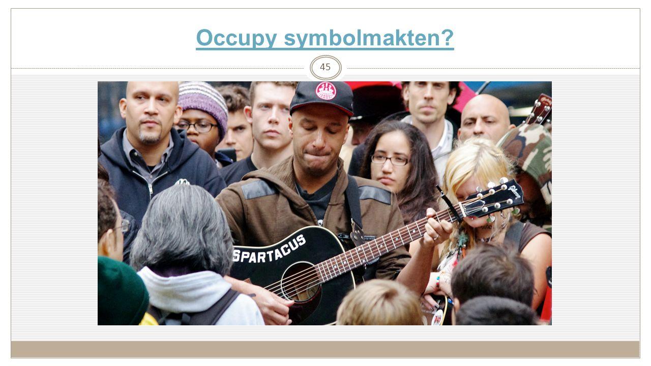 Occupy symbolmakten? 45