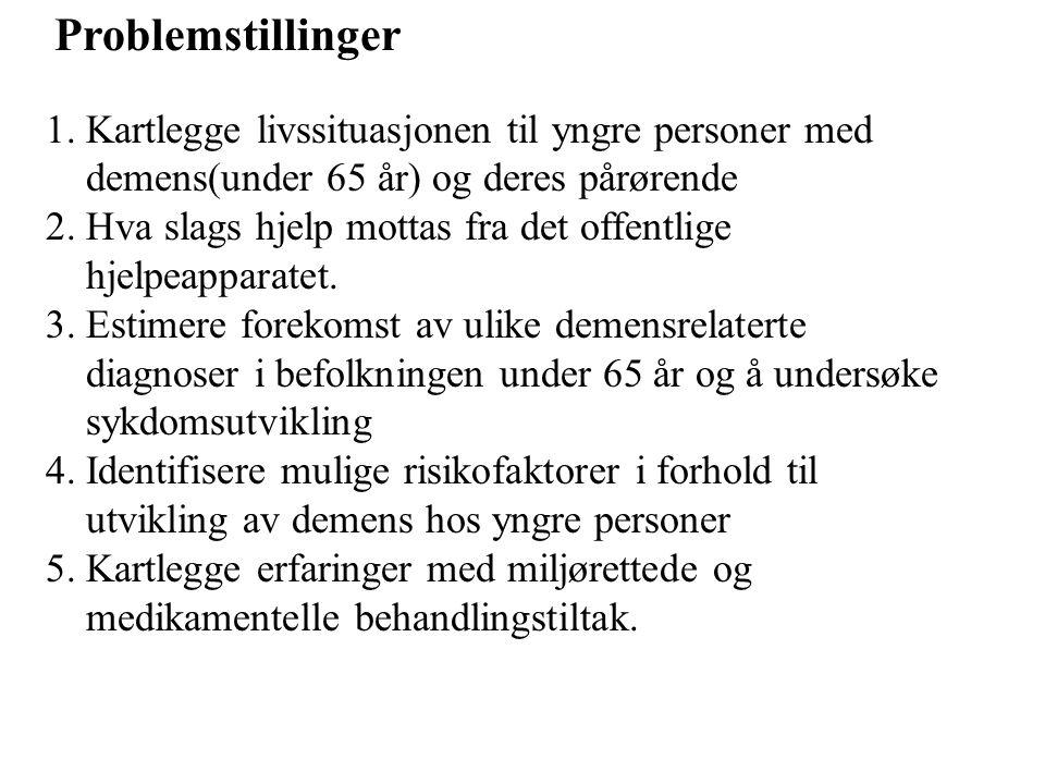 Problemstillinger 1.