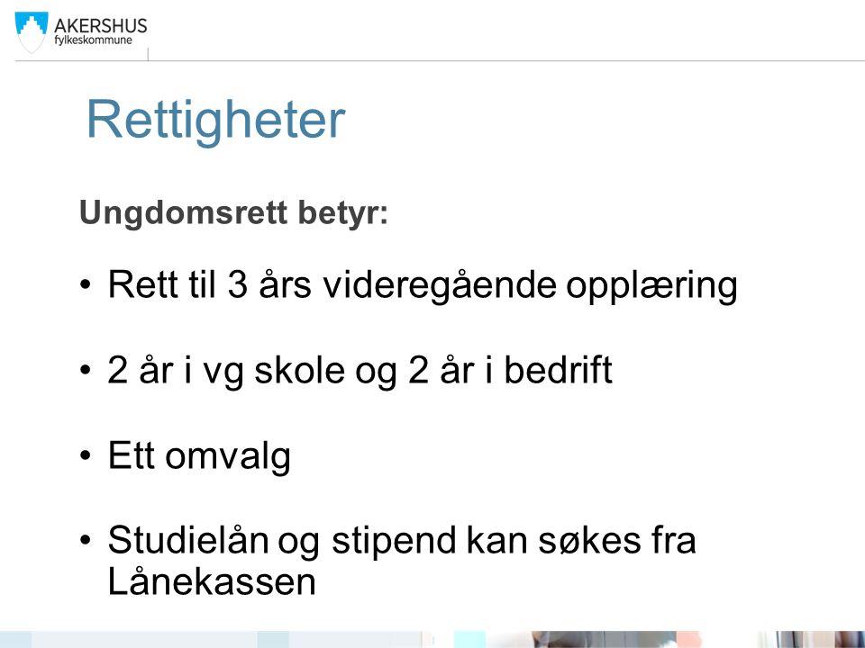 Videre utdanning: Fagskole Ingeniør Yrkesveien Mesterbrev Universitet og høgskole Se: www.utdanning.no www.utdanning.no www.samordnetopptak.no