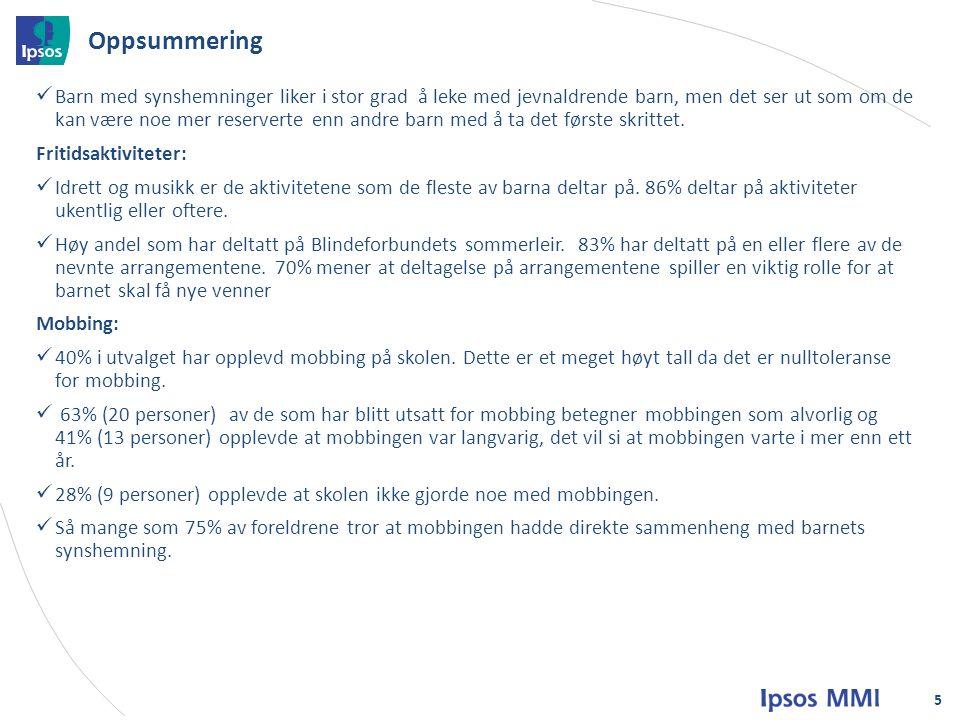 Høy andel som har deltatt på Blindeforbundets sommerleir.