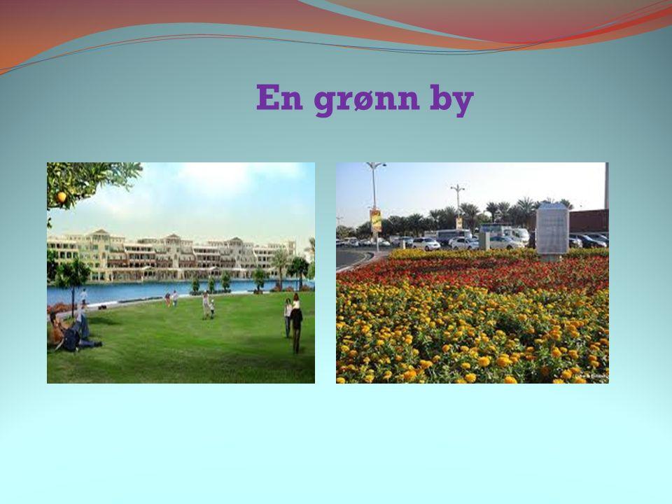 En grønn by