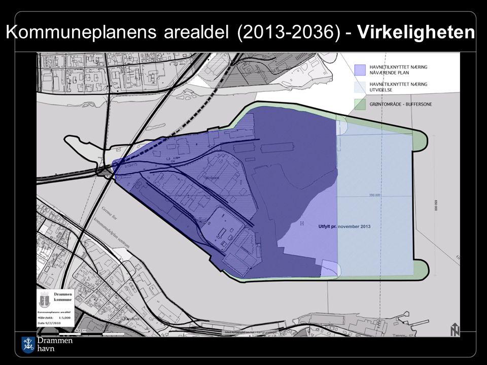 Kommuneplanens arealdel (2013-2036) - Virkeligheten