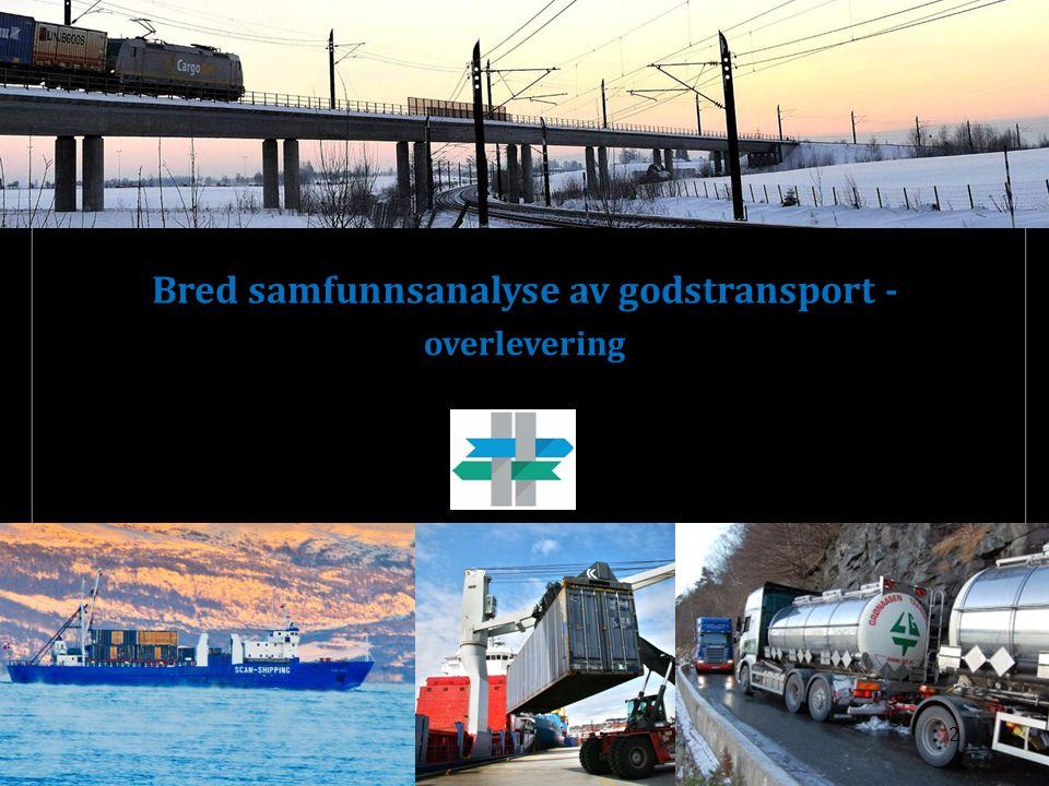 overlevering Bred samfunnsanalyse av godstransport - 2 Drammen havn, 4. september 2015