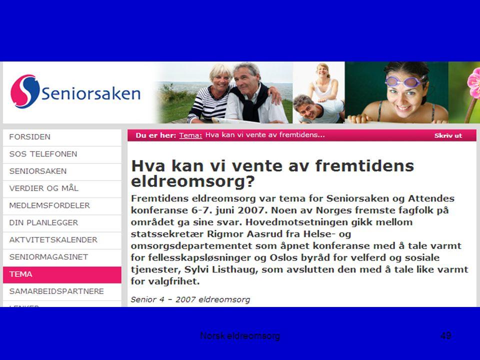 Norsk eldreomsorg49