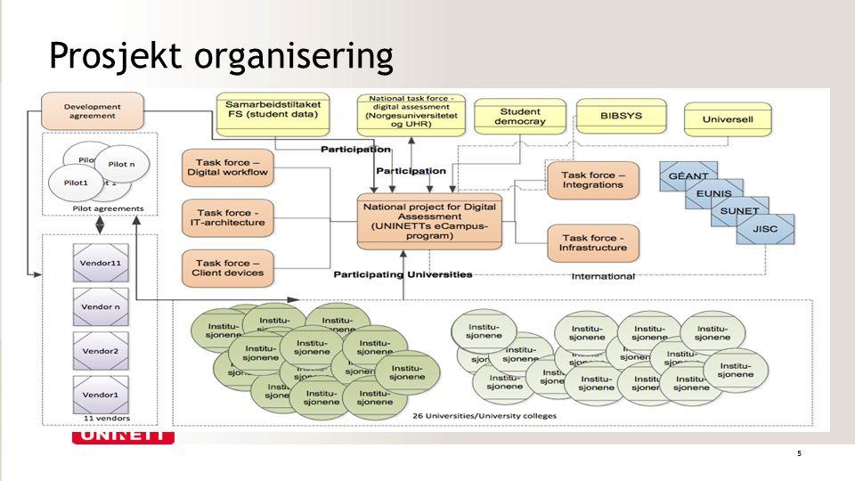 Prosjekt organisering 5