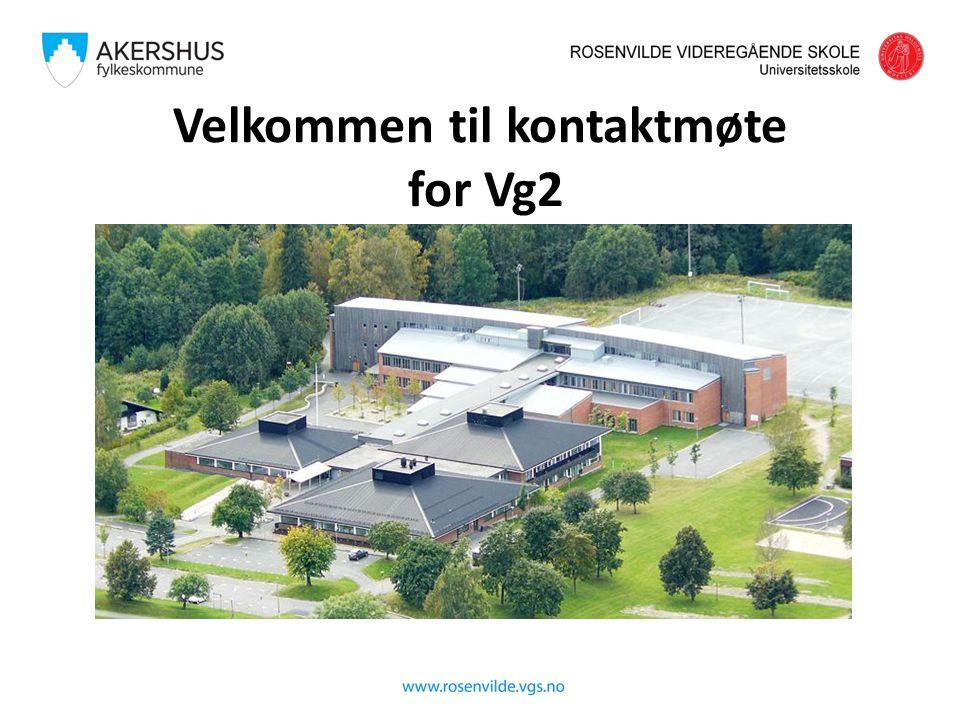 Rosenvilde 2014 Valg videre Elevene på Vg2 ST kan velge Vg3 Studiespesialisering Fortrinnsrett til skoleplass på Rosenvilde