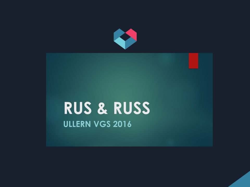 VG3: INFORMASJONSMØTE OM RUSSETID OG EKSAMEN VÅREN 2016