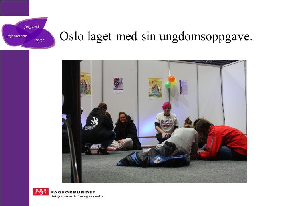 Oslo laget med sin ungdomsoppgave.