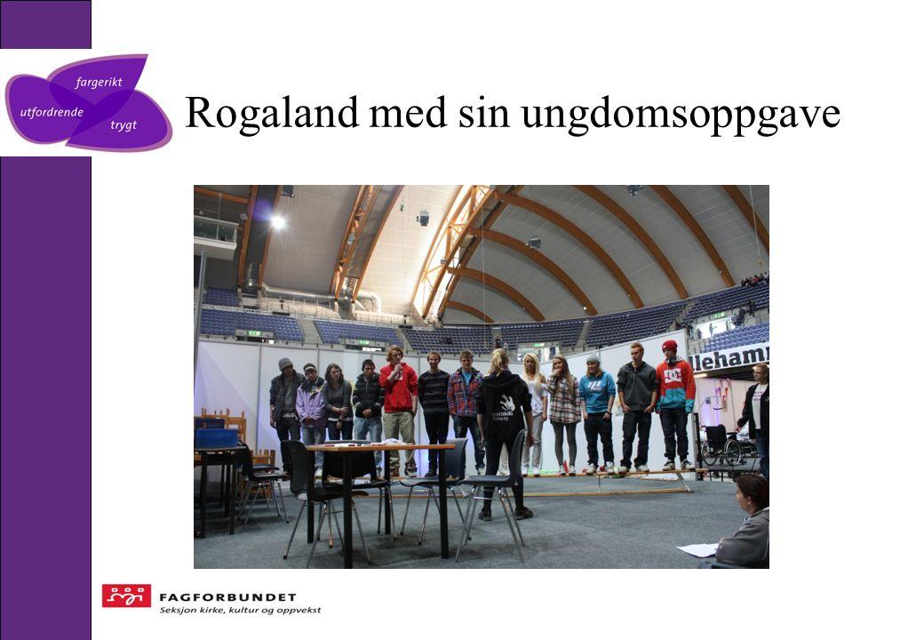 Rogaland med sin ungdomsoppgave