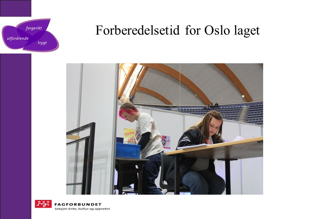 Forberedelsetid for Oslo laget