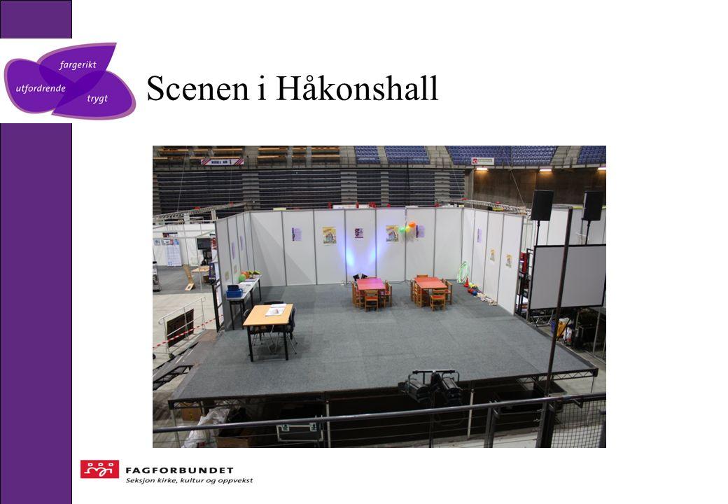 Scenen i Håkonshall