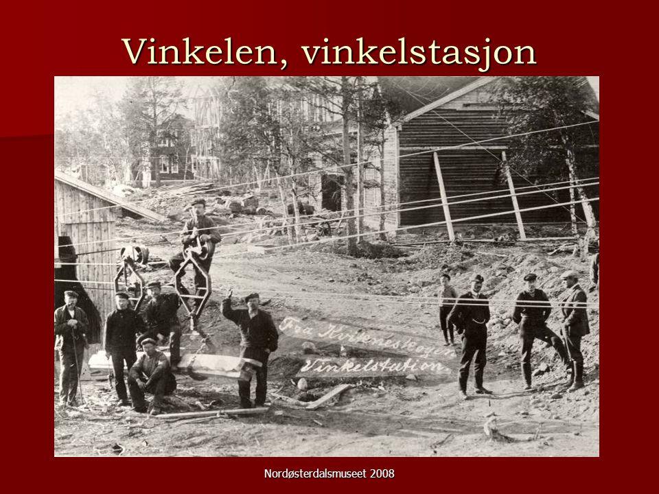 Nordøsterdalsmuseet 2008 Vinkelen, vinkelstasjon