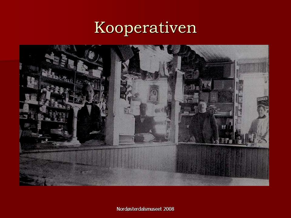 Nordøsterdalsmuseet 2008 Kooperativen