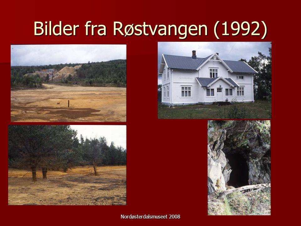 Nordøsterdalsmuseet 2008 Bilder fra Røstvangen (1992)