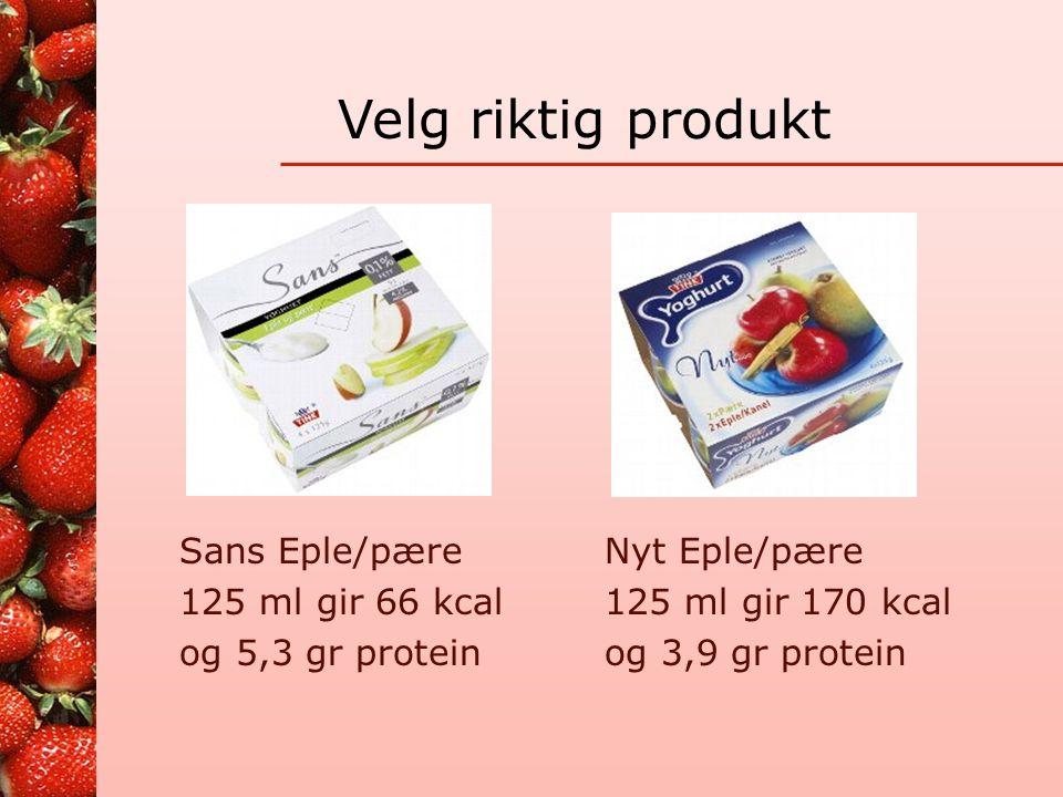 Lag en Smoothies! Jordbær og pæredrøm 1 kurv jordbær og 2 modne pærer mikses med 6-8 isbiter og 3 dl farris 1 gl gir 46 kcal, 0,6 gr protein Blå fløye