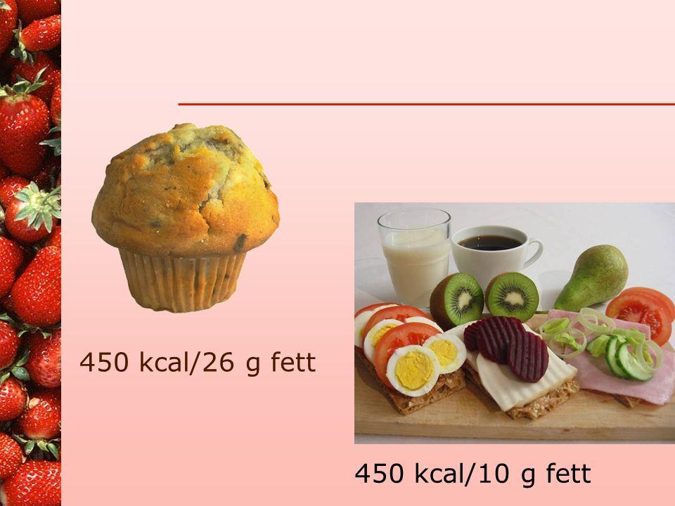   Kjøttpålegg Salami –Energi 420 kcal –Protein 19g –Karbohydrat 2,5g –Fett 37g Lett- Salami –Energi 335 kcal –Protein 22g –Karbohydrat 1,6g –Fett 23g Kokt skinke –Energi 99 kcal –Protein 17,9g –Karbohydrat 0g –Fett 3g
