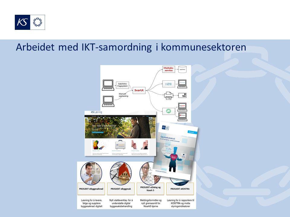 Arbeidet med IKT-samordning i kommunesektoren