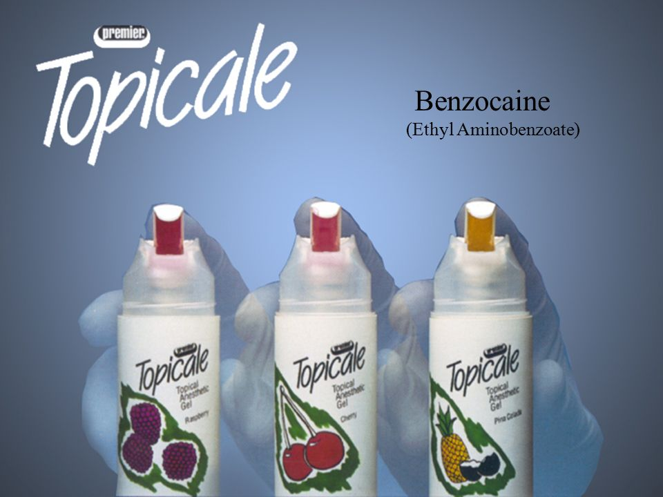 Benzocaine (Ethyl Aminobenzoate)