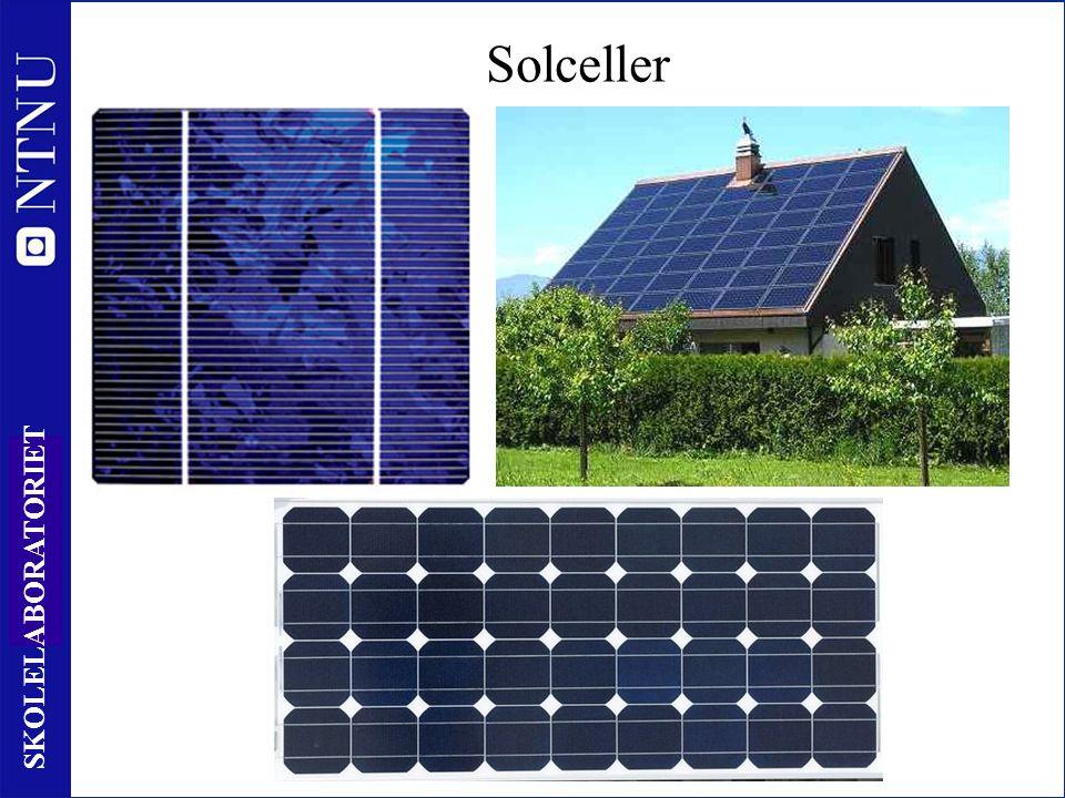 25 SKOLELABORATORIET Solceller n p Elektrisk nøytral Elektrisk nøytral Ladning