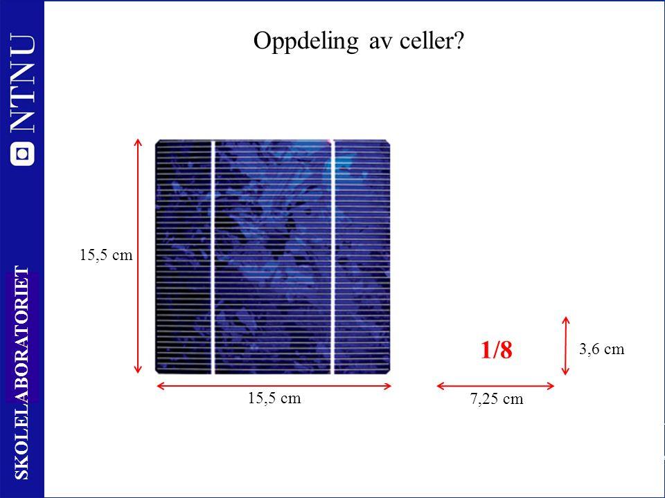 10 SKOLELABORATORIET P ut RLRL Typisk virkningsgrad 14 – 18 % Hvor tapes energien.