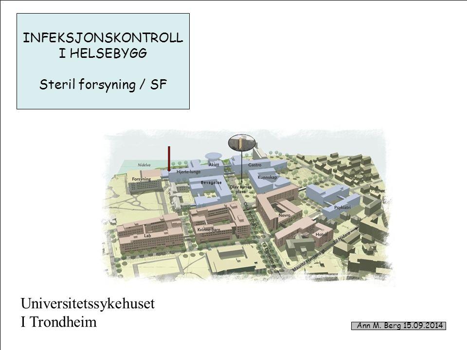 1 Universitetssykehuset I Trondheim Ann M.