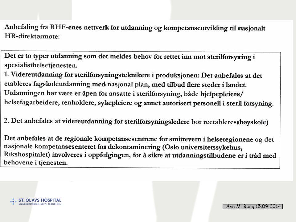 10 Ann M. Berg 15.09.2014