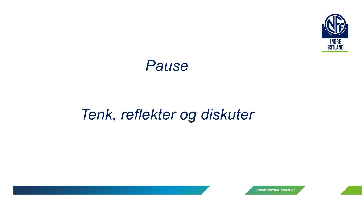 Pause Tenk, reflekter og diskuter