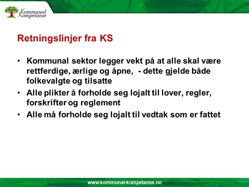 www.kommunal-kompetanse.no Etisk refleksjonsmodell (4) 4. Handling Gjennomføring Evaluering