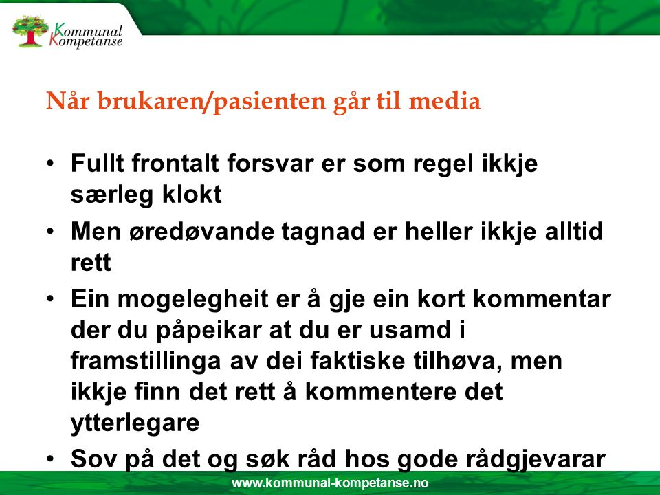 www.kommunal-kompetanse.no -Effektiviseringa har enda i rovdrift -Når meir og meir arbeid vert lagt på færre og færre personar, så blir det ikkje lenger effektivisering, men rovdrift, seier hovudtillitsvald og leiar av Fagforbundet i Naustdal, Ruth Øyra.