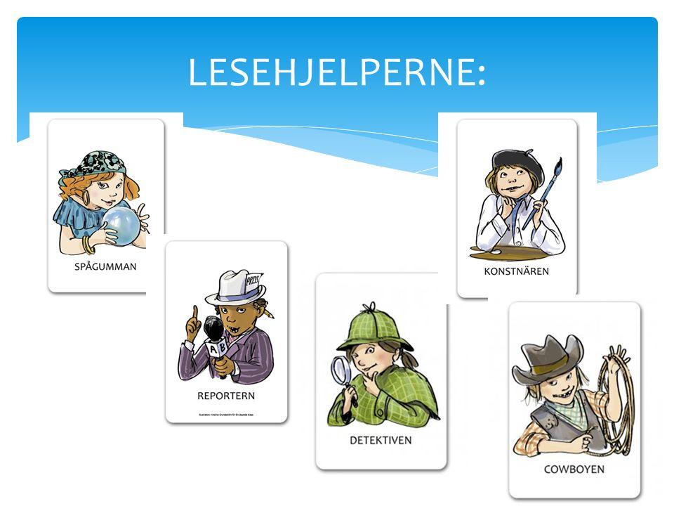 LESEHJELPERNE: