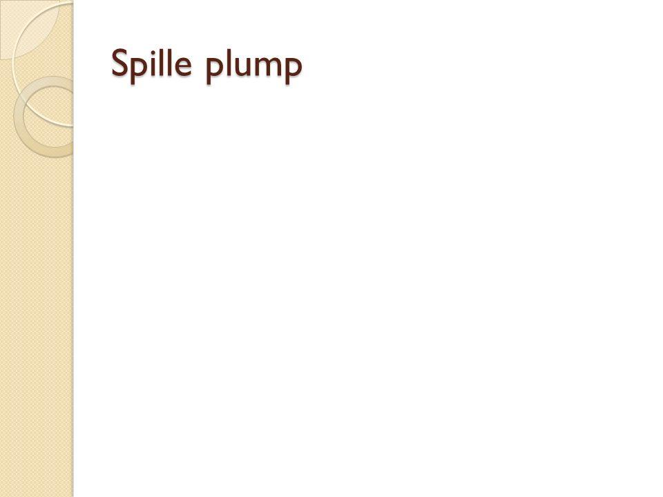 Spille plump