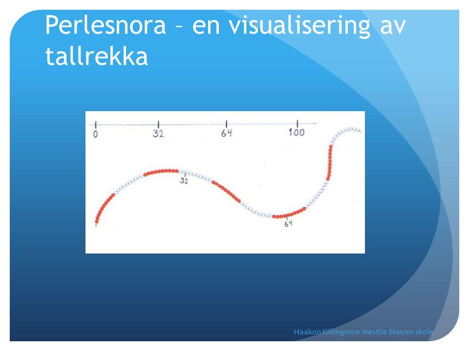 Perlesnora – en visualisering av tallrekka Haakon Killingmoe Westlie Skøyen skole