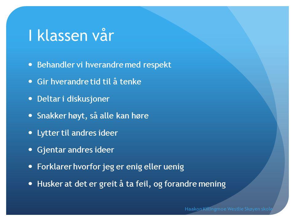 DEN INTERNASJONALE MATEMATIKK-0LYMPIADEN Haakon Killingmoe Westlie Skøyen skole