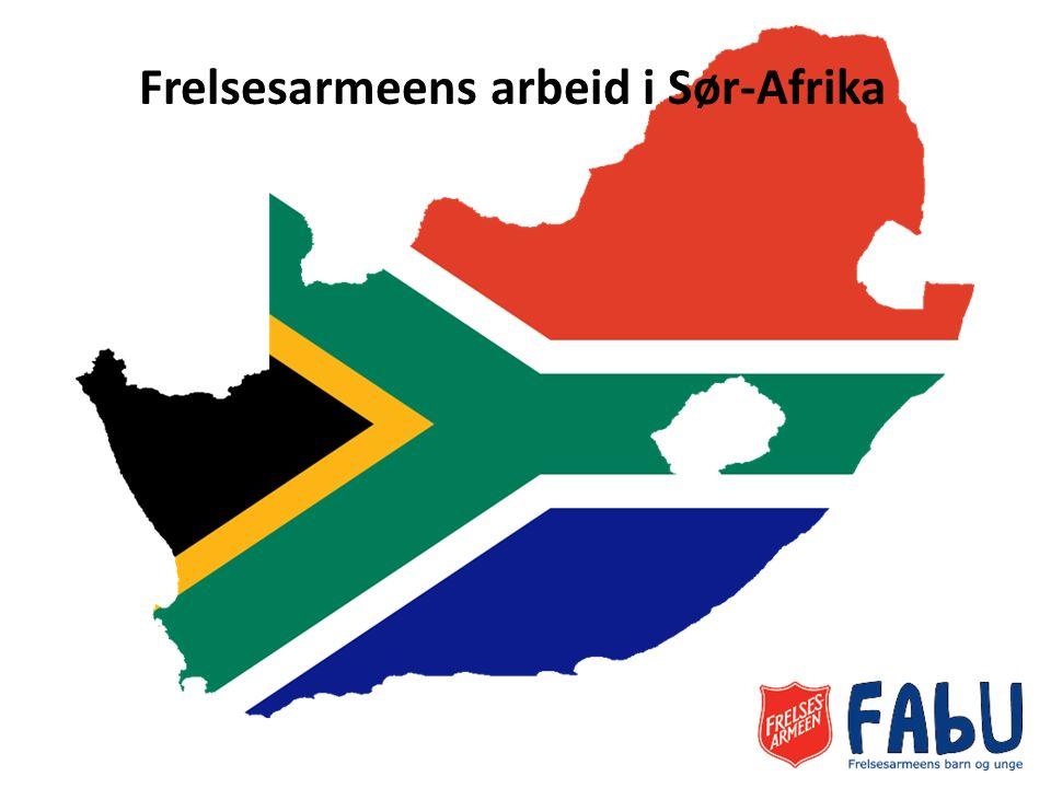 Frelsesarmeens arbeid i Sør-Afrika