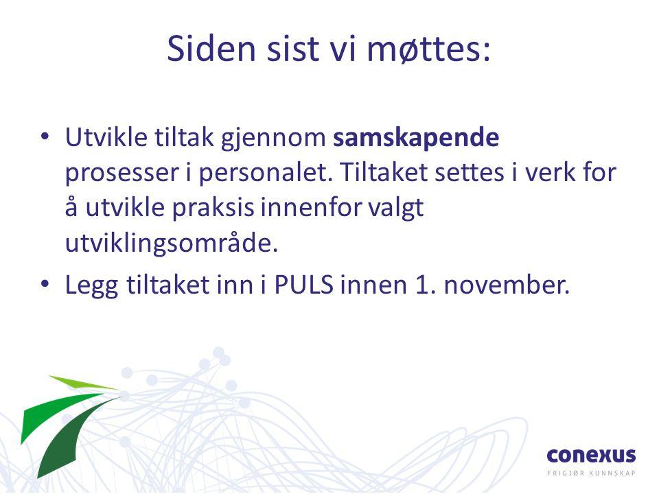 Ny drift Kilde: Mostad, Skandsen, Wærness og Lindvig, 2013