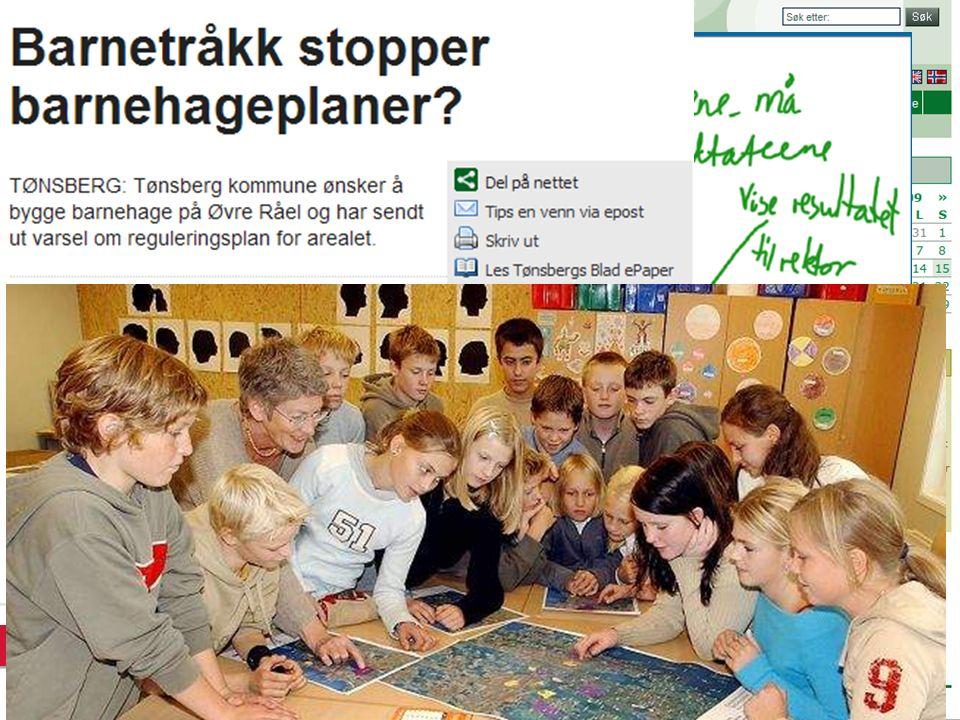 Medvirkningsprosess for barn Eyvin Bjørnstad, Høgskolen i Vestfold, 2009