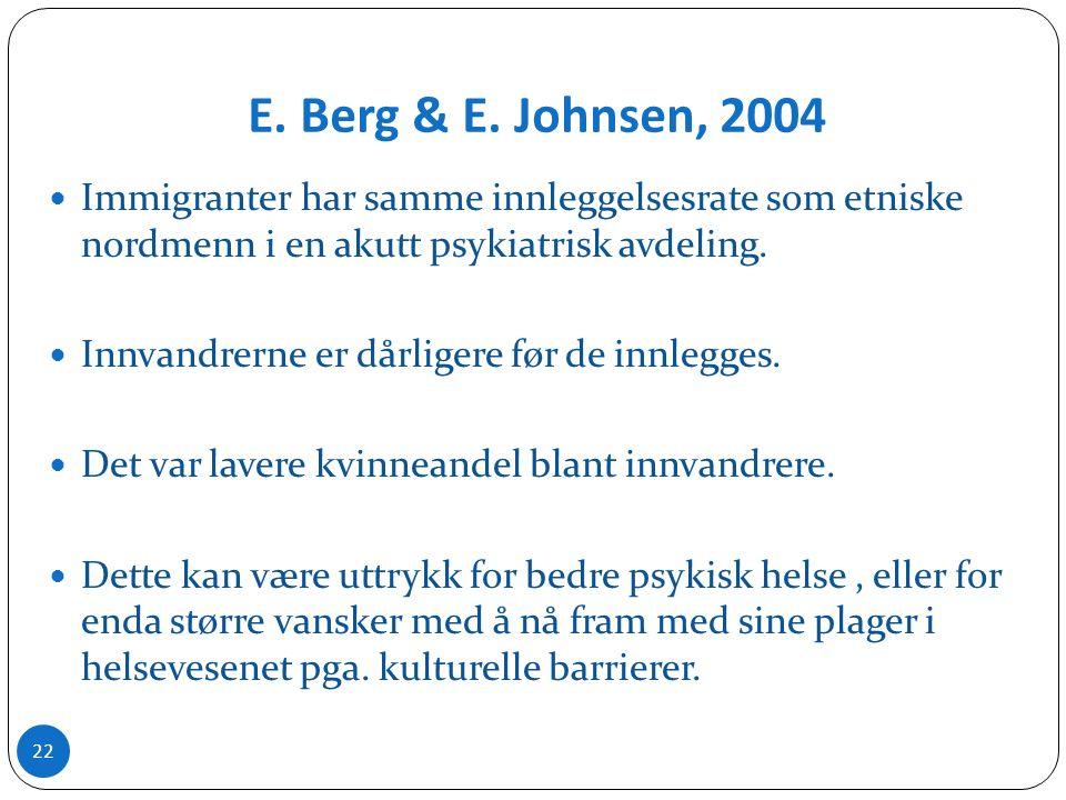 E. Berg & E.
