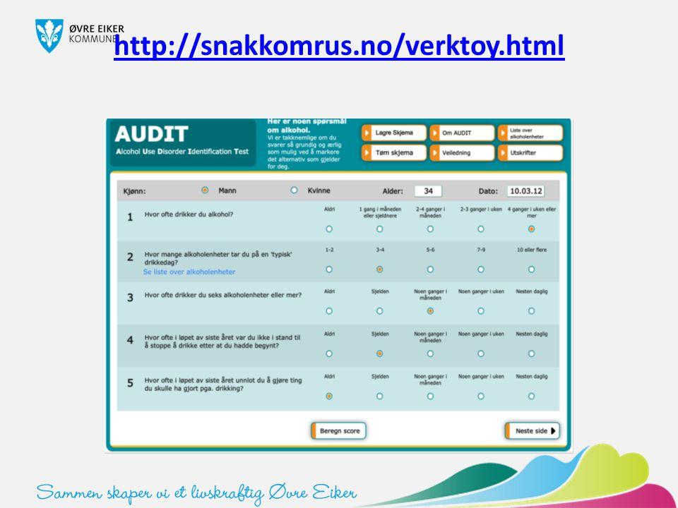http://snakkomrus.no/verktoy.html