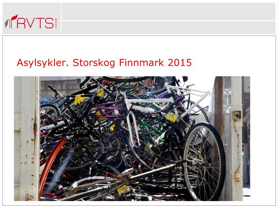 Asylsykler. Storskog Finnmark 2015