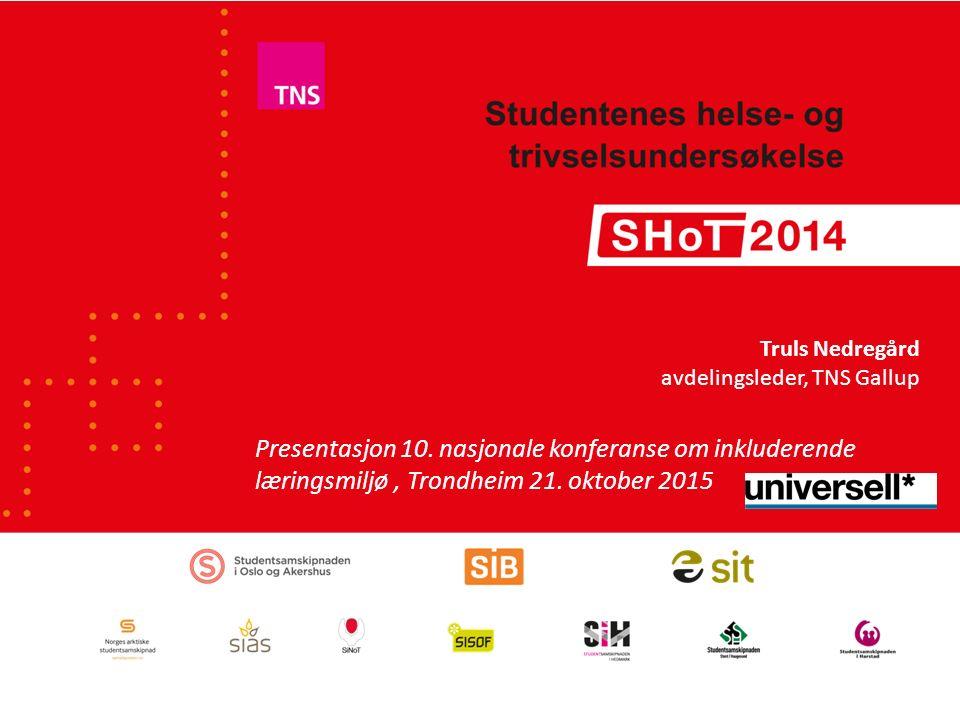 Presentasjon 10. nasjonale konferanse om inkluderende læringsmiljø, Trondheim 21.